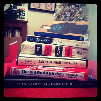 image: Holiday Reads 2013